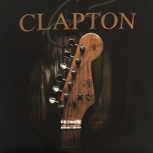 Delta Shirts - Eric Clapton 2013 Concert Tee Large